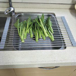 רשת אלומיניום לייבוש כלים ושטיפת ירקות
